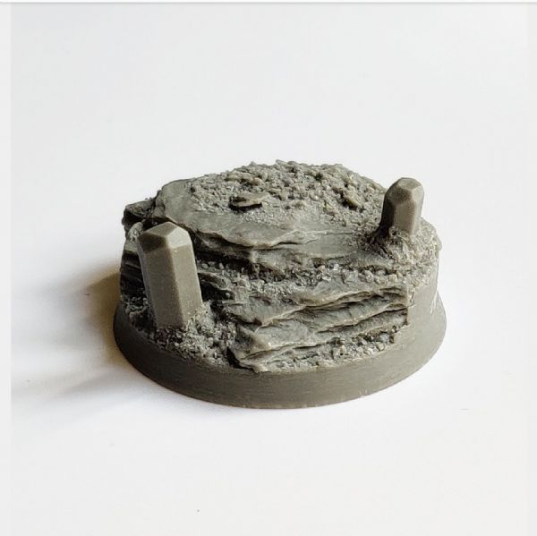 40mm Crystal Wasteland Character base 4